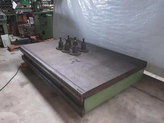 ZettMesss Aufspannplatte, Messplatte 1580x2500x320 mm - 2