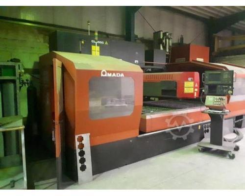 Amada LC3015D CNC Laserschneidanlage mit 4 gesteuerten Achsen - Bild 1