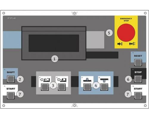 Metallkraft BMBS 300x320 HA-DG Doppelgehrung-Bandsäge Halbautomat - Bild 3