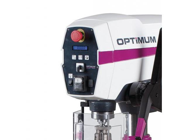 Optimum OPTIdrill DP33 SET Säulenbohrmaschine mit Schraubstock - 5