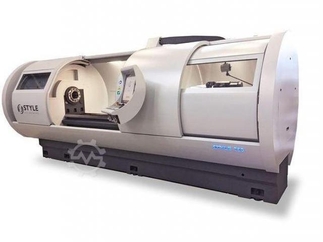 STYLE Style 350x850 CNC Flachbettdrehmaschine mit Steuerung Style - 5