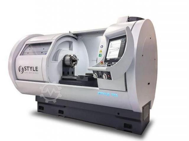 STYLE Style 350x850 CNC Flachbettdrehmaschine mit Steuerung Style - 6