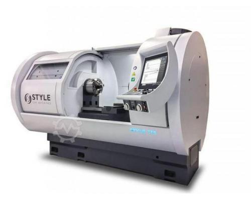 STYLE Style 350x850 CNC Flachbettdrehmaschine mit Steuerung Style - Bild 6