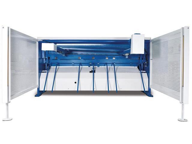 Metallkraft MTBS 2100-40B motorische Tafelblechschere - 2