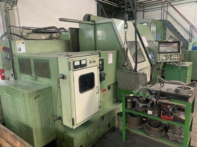 Okuma LC40 CNC Schrägbettdrehmaschine - 6