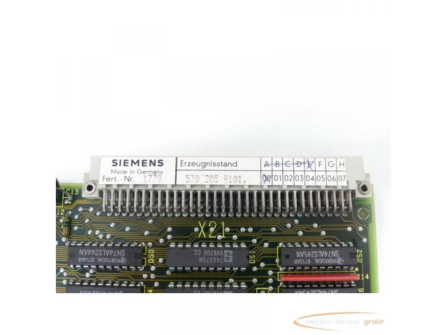 Siemens 6FX1120-5BA01 NCU-CPU ohne Software E-Stand F / 00 SN:1770 - 4