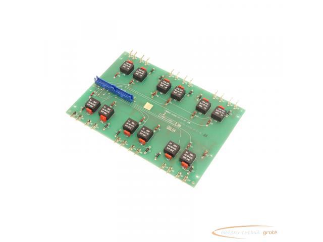 Siemens C98043-A1052-L1 / 03 Steuerungsplatine SN:Q6L04 - 1
