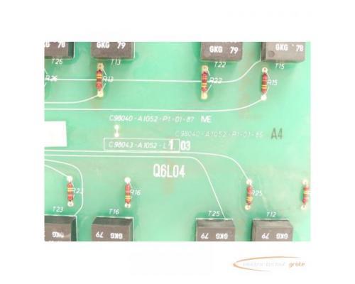 Siemens C98043-A1052-L1 / 03 Steuerungsplatine SN:Q6L04 - Bild 4