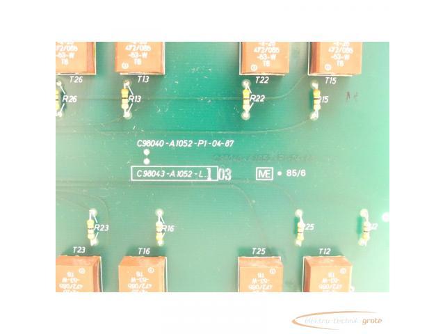 Siemens C98043-A1052-L1 / 03 Steuerungsplatine - 4