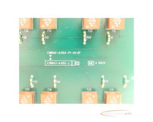 Siemens C98043-A1052-L1 / 03 Steuerungsplatine - Bild 4
