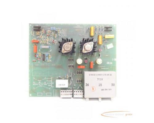 Siemens C98043-A1001-L5 / 06 Steuerungsplatine SN:Q6L04 - Bild 2
