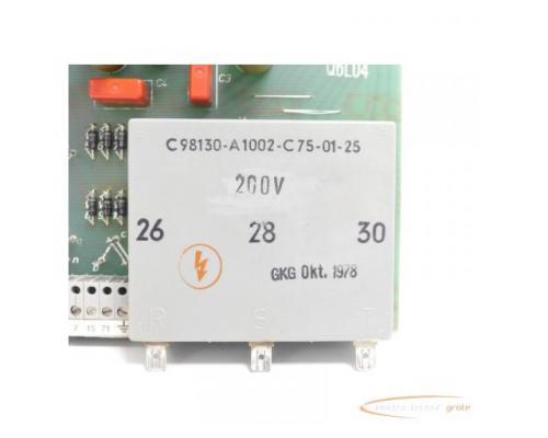 Siemens C98043-A1001-L5 / 06 Steuerungsplatine SN:Q6L04 - Bild 3