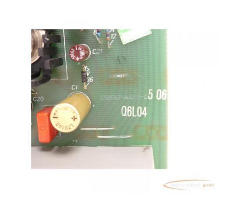 Siemens C98043-A1001-L5 / 06 Steuerungsplatine SN:Q6L04 - Bild 5