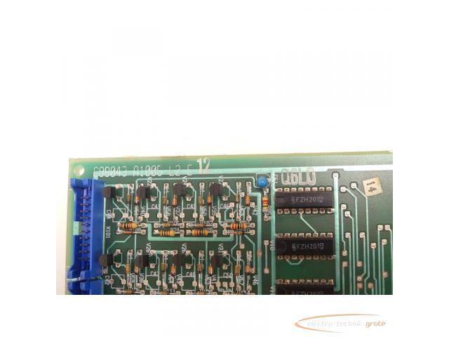 Siemens C98043-A1005-L2-E 12 Steuerungsplatine SN:Q6L0 - 4