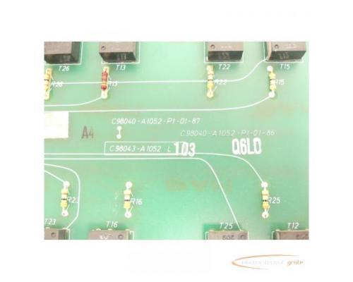 Siemens C98043-A1052-L1 / 03 Steuerungsplatine SN:Q6L0 - Bild 4