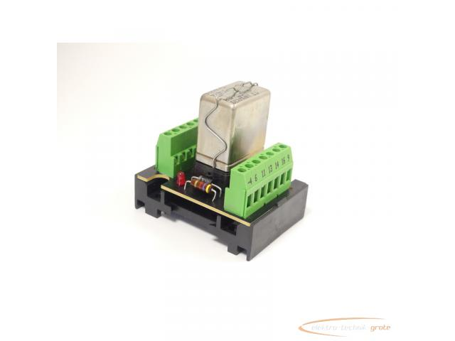 Murrelektronik 61002 Relaisplatte + Siemens V23162-B0720-C410 Kammrelais - 1