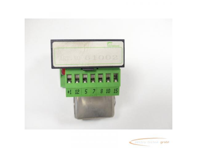 Murrelektronik 61002 Relaisplatte + Siemens V23162-B0720-C410 Kammrelais - 2
