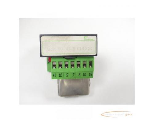 Murrelektronik 61002 Relaisplatte + Siemens V23162-B0720-C410 Kammrelais - Bild 2