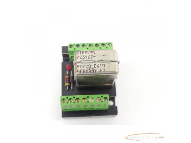 Murrelektronik 61002 Relaisplatte + Siemens V23162-B0720-C410 Kammrelais - 3
