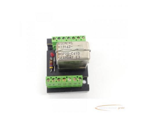 Murrelektronik 61002 Relaisplatte + Siemens V23162-B0720-C410 Kammrelais - Bild 3