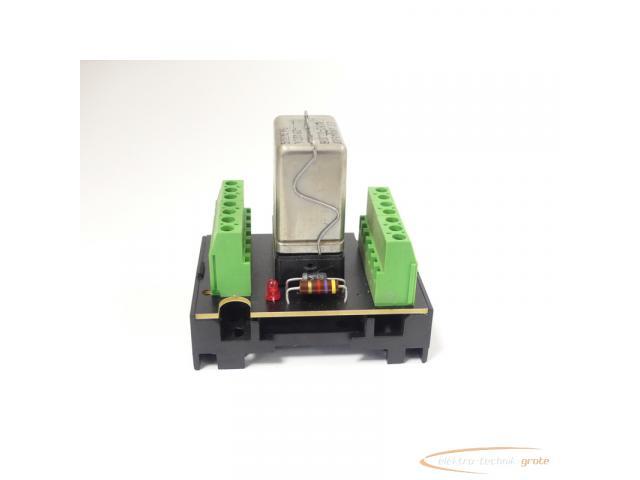 Murrelektronik 61002 Relaisplatte + Siemens V23162-B0720-C410 Kammrelais - 4