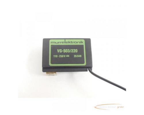 Murrelektronik VG-S03/220 Entstörglied 26048 110 - 250V - Bild 2