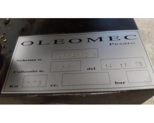 Oleomec Hydraulik-Aggregat zum Schwenken des Fräskopfes von Fräsmaschine Fidia Digit 318/3 - Bild 3