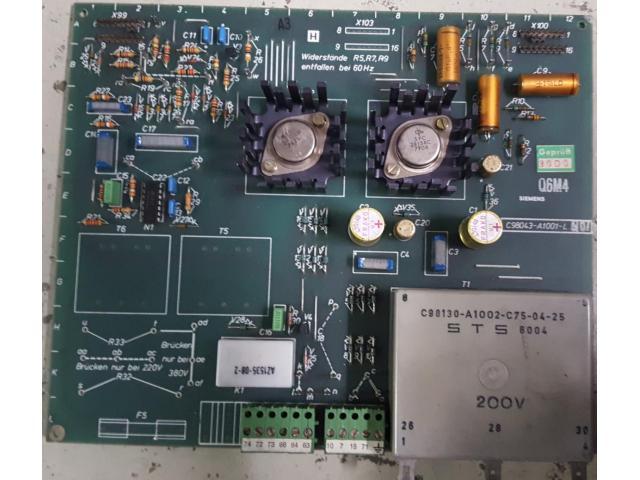C98043-A1001-L5 Stromversorgung für Simoreg Thyristor-Gerät - 2