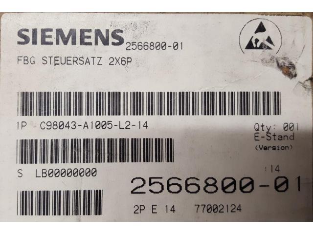 C98043-A1005-L2-E14 Simoreg FBG Steuersatz - 1