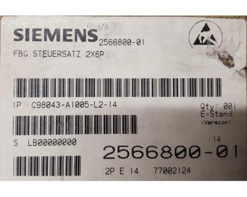 C98043-A1005-L2-E14 Simoreg FBG Steuersatz - Bild 1