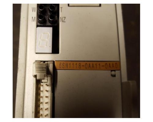6sn1118-0aa11-0aa1 SIMODRIVE 611-A Regelungseinschub - Bild 3
