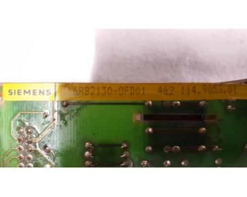 6RB2130-0FD01 SIMODRIVE 210 DC-VSA FBG LEISTUNGSTEIL - Bild 2