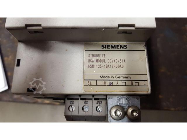 6SN1135-1BA12-0DA0 Simodrive 611 Leistungsteil Servomodul - 1