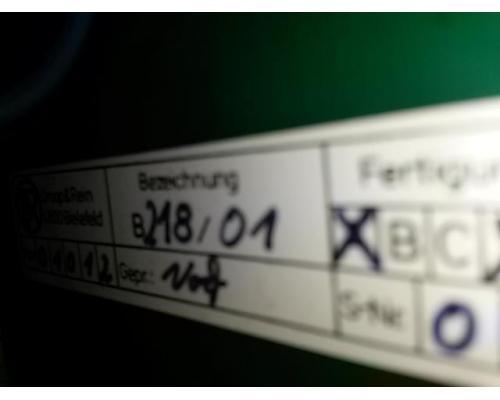Droop & Rein Zusatzbedienfeld Folientastatur B218/01 oder B219/01 - Bild 2