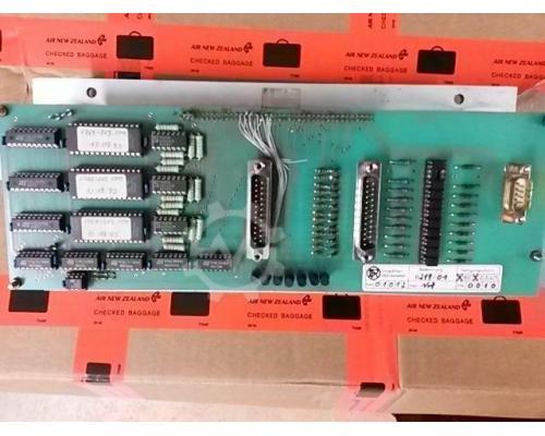Droop & Rein Zusatzbedienfeld Folientastatur B218/01 oder B219/01 - Bild 3