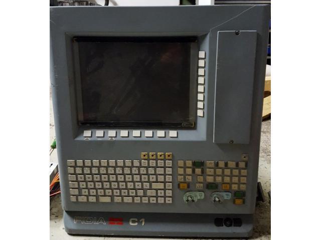 Fronttafel mit TFT-Bildschirm von CNC-Steuerung Fidia C1 - 1