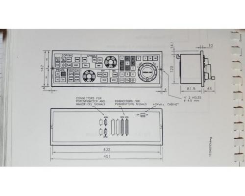 Fidia Maschinenbedienfeld PB14 - Bild 1