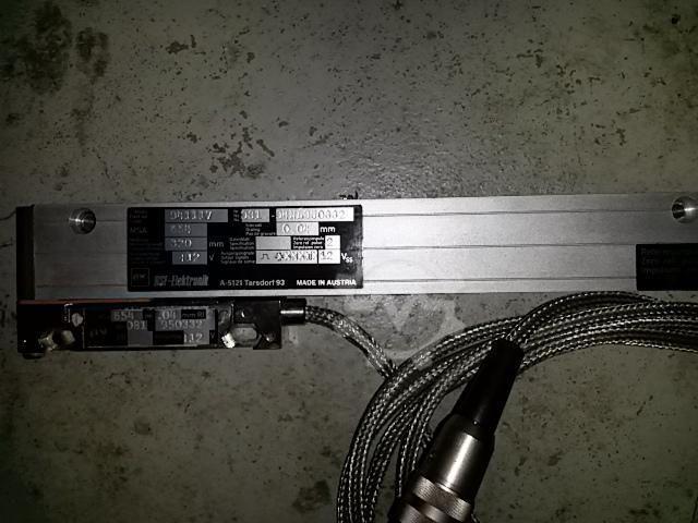 RSF lineares Messsystem Meßlänge 320mm - 2
