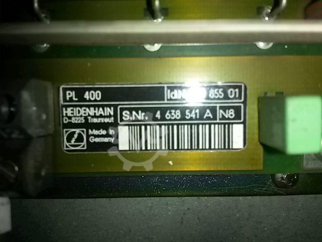 PLC-Leistungsplatine PL400 Id. 252855-01 - 2