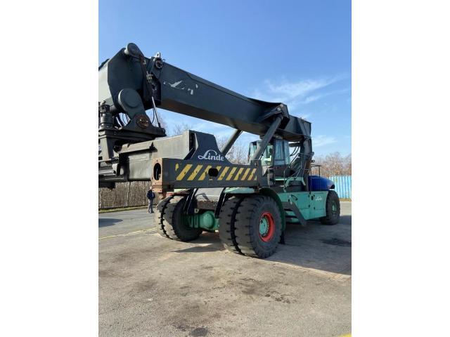 Linde C4531TL Reach Stacker 45000kg - 2