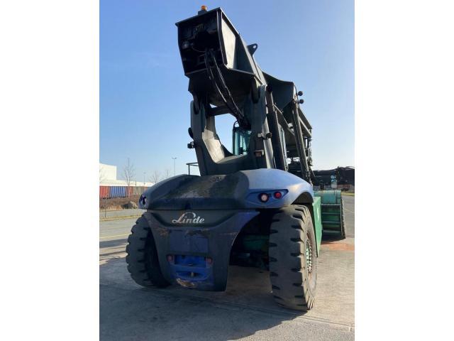 Linde C4531TL Reach Stacker 45000kg - 3