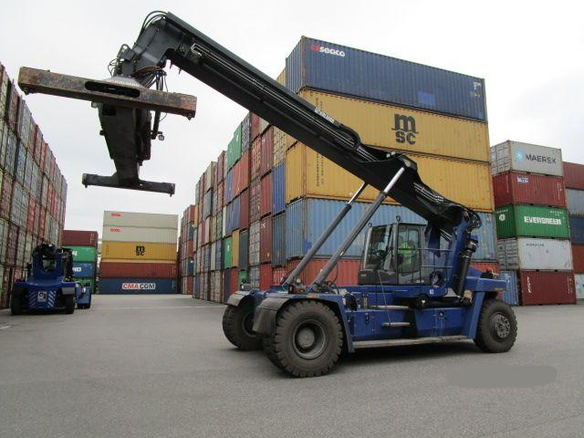 Kalmar DRG100-54S6 Reach Stacker 10000kg - 1