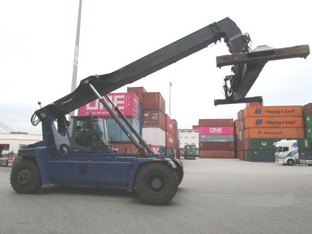 Kalmar DRG100-54S6 Reach Stacker 10000kg - 2
