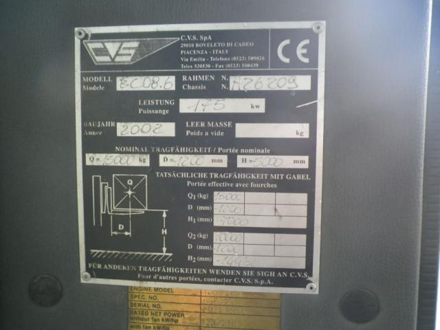 CVS Ferrari ECO8.6 Containerstapler 15000kg - 6
