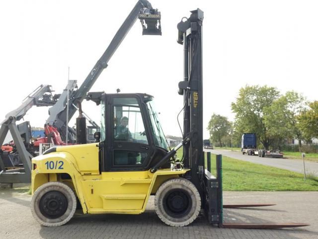 Hyster H10XMS-6 Schwerlaststapler 10000kg - 3