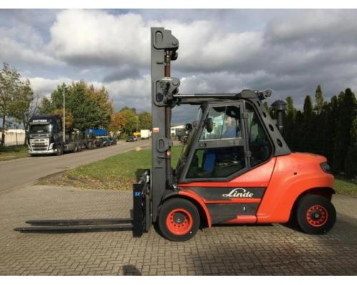 Linde H80D-02/900 Gabelstapler 8000kg - Bild 1