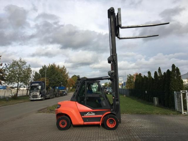 Linde H80D-02/900 Gabelstapler 8000kg - 2