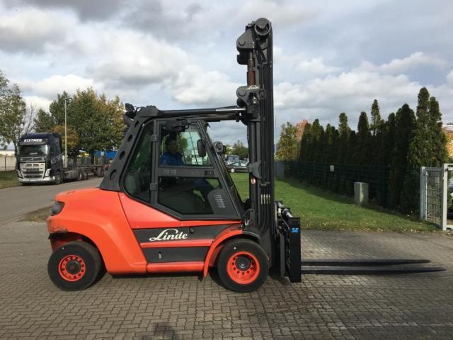 Linde H80D-02/900 Gabelstapler 8000kg - 4
