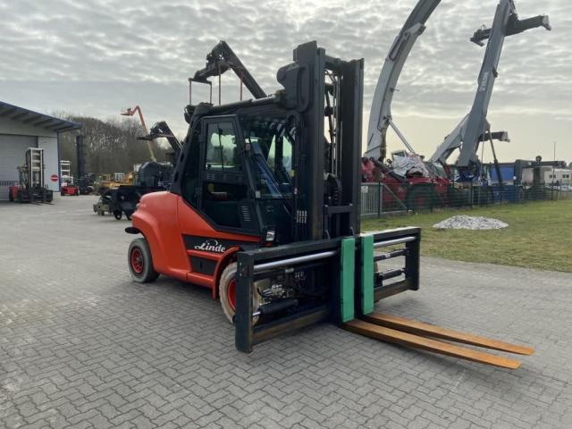 Linde H80T-02-1100 Gabelstapler 8000kg - 3
