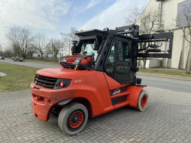 Linde H80T-02-1100 Gabelstapler 8000kg - 7